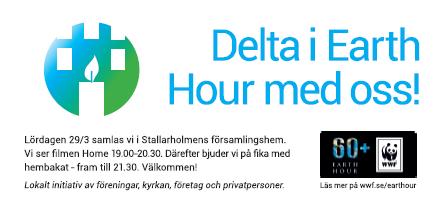 WWF Earth Hour Stallarholmen 2014