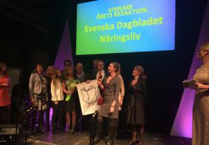 SvD vinnare Årets Redaktion
