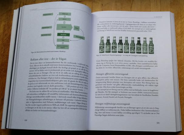 Boken Hållbar marknadskommunikation lyfter Saltå Kvarn som ett exempel