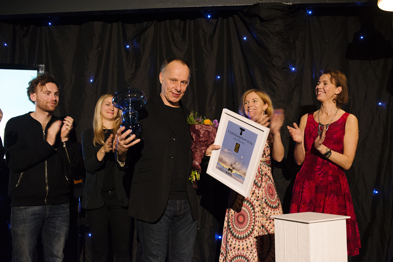 Johan Ehrenberg, vinnare av Utstickarpriset 2014
