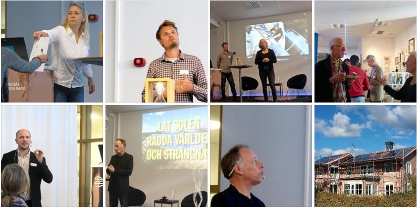 """Bilder från seminariet Ideér för ett hållbart näringsliv"""" i Strängnäs Business Park den 9 oktober 2015. Fotograf:  Line Lundström"""