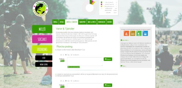 Snart lanseras ett nytt verktyg, Hållbart evenemang