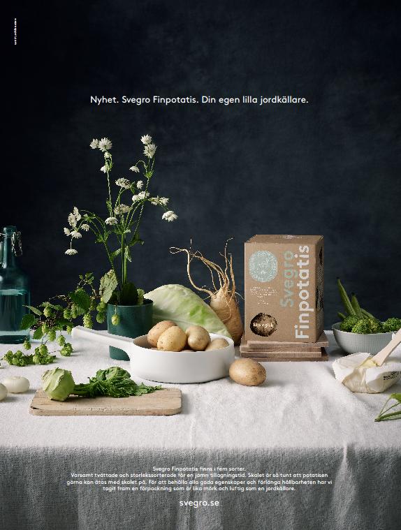 Ny, het potatis från Svegro - finpotatis
