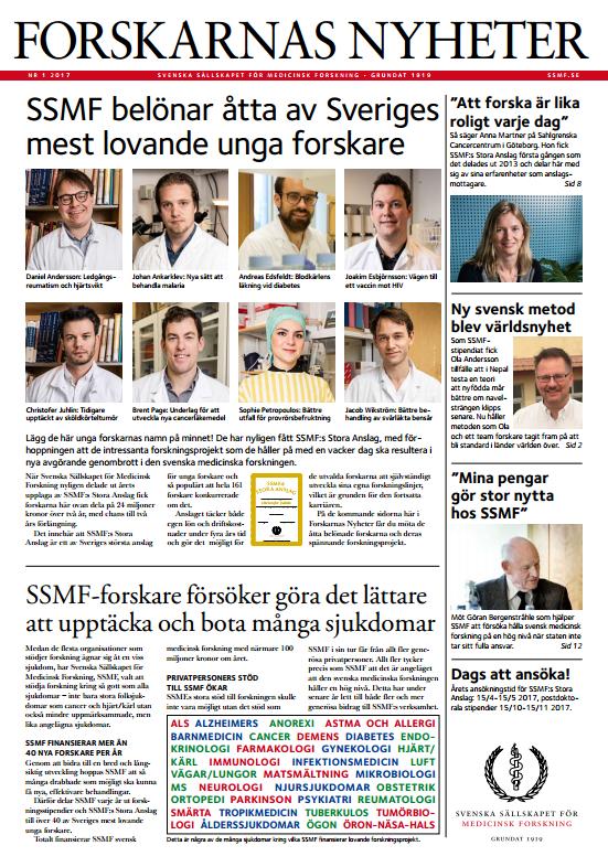 Forskarnas Nyheter nr 1 2017