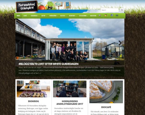 Hornuddens Ekocafé - Årets Hållbara Café för andra året i rad, enligt White Guide