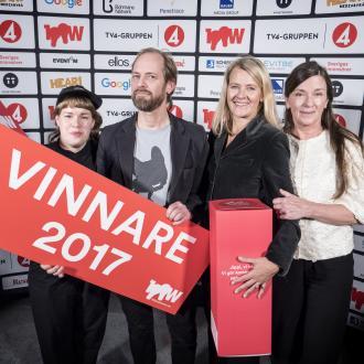 Svegro, vinnare av bronspris i 100-wattaren 2017 i kategorin: 50W Konsument strategisk design. Bild: 100wattaren.se