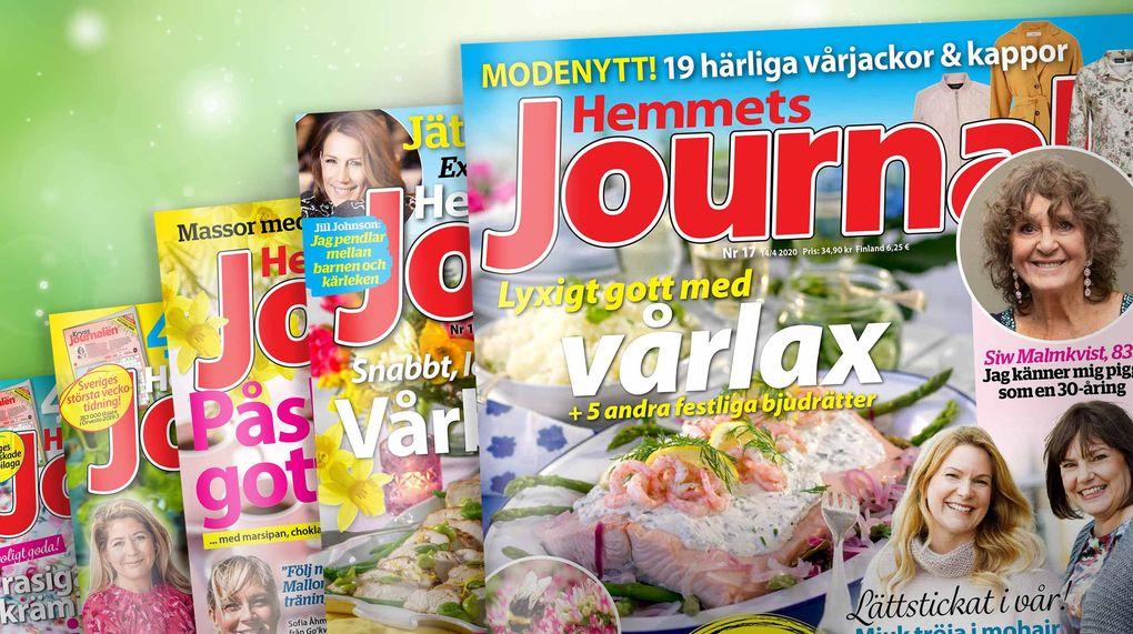Hemmets Journal skänker 10 000 tidningar till äldreboenden Bild: Hemmets Journal
