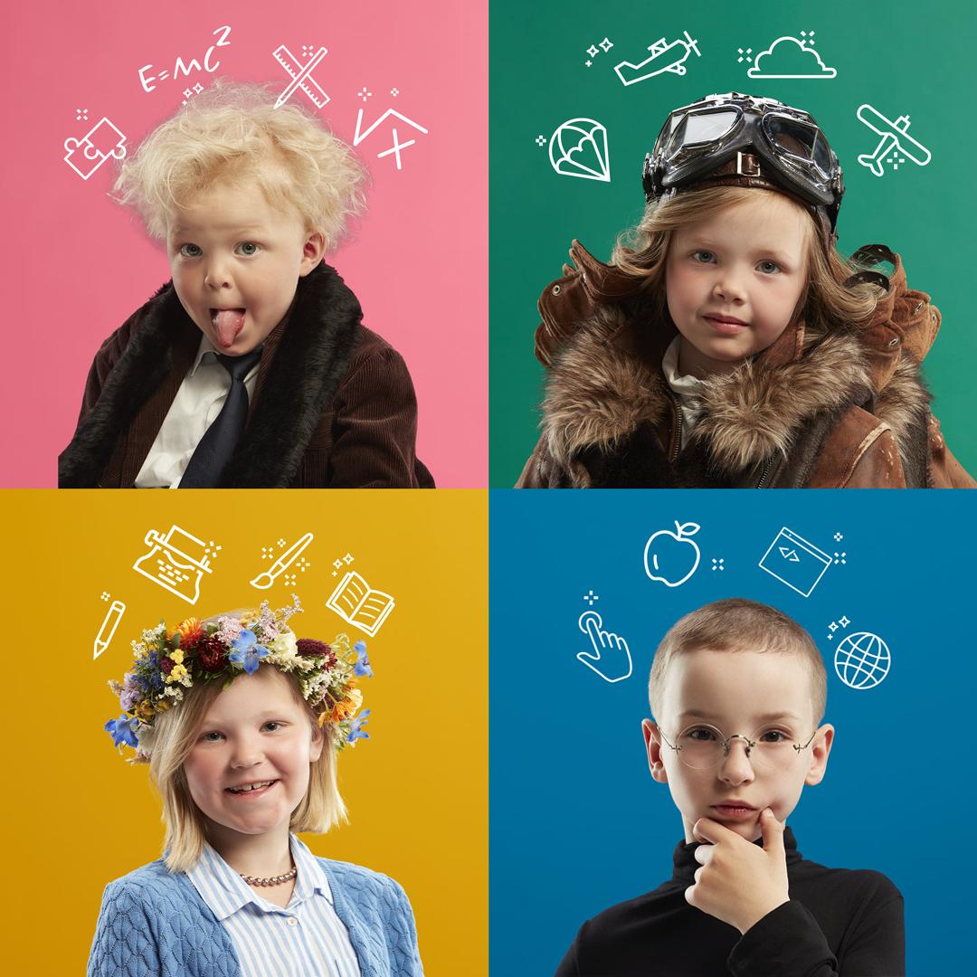 Ny kampanj från Parmaco för en inspirerande skolmiljö. Ovanstående bild är hämtad från en helsidesannons i Dagens Samhälle den 10 september 2020.