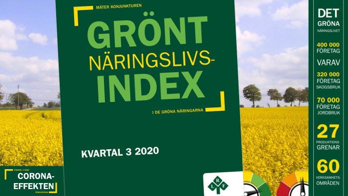 LRF lanserar ett grönt näringslivsindex. Bild: lrf.se